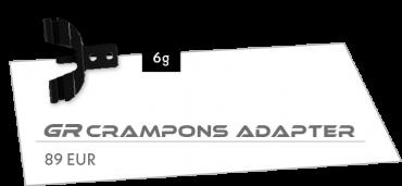 GR crmpons adapter